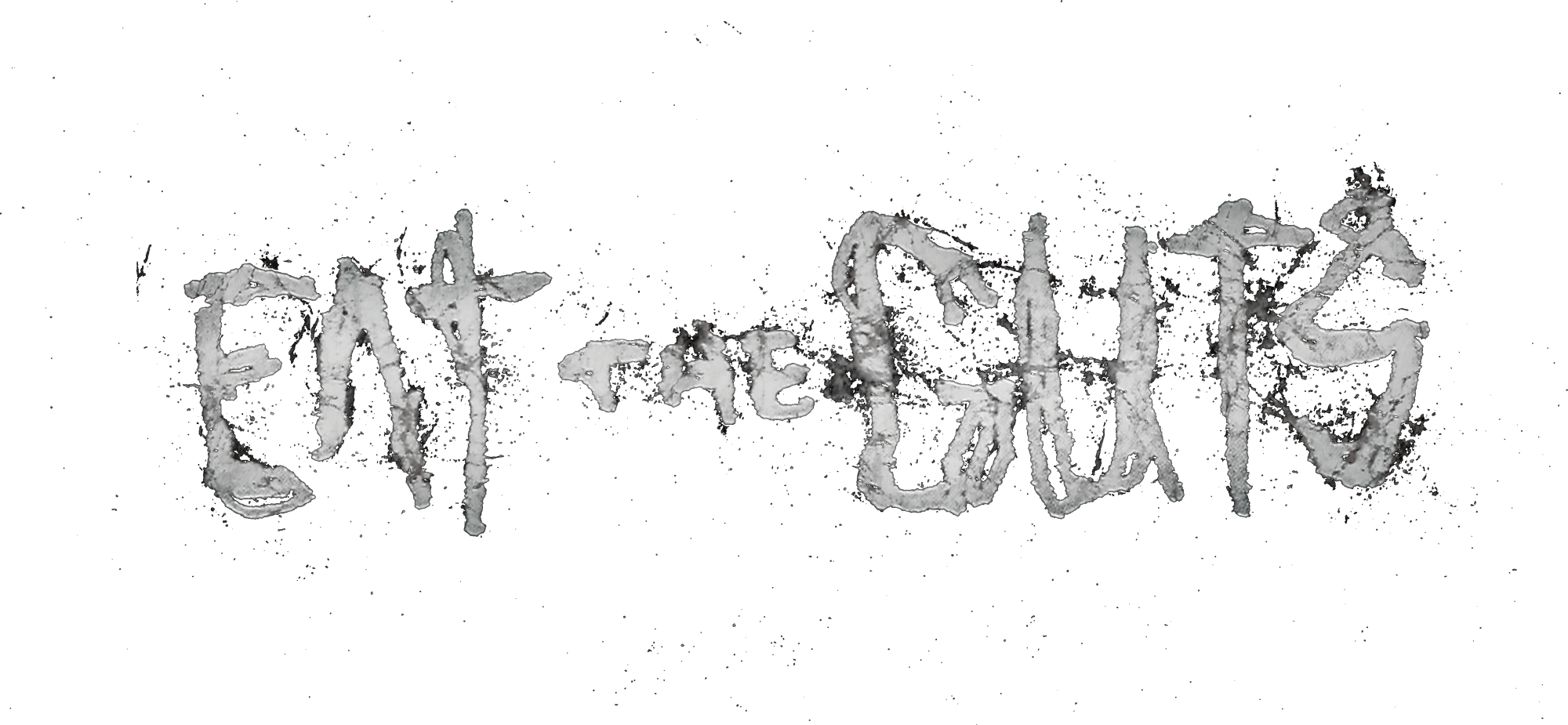 Eat The Guts Campaign Logo